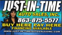 Just in time – Auto sales